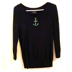 3/4 Length Sleeve American Eagle Anchor Sweater